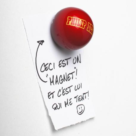 """Magnet \""""Pomme d\'Amour\"""", un aimant frigo"""