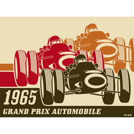 Poster Grand Prix Automobile