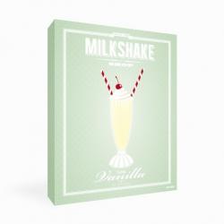 Tableau Milkshake Vanille