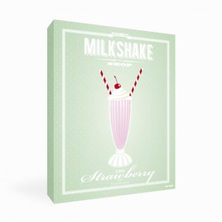 Tableau Milkshake Fraise