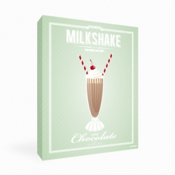Chocolate Milkshake Canvas