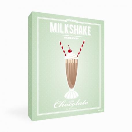 Tableau Milkshake Chocolat