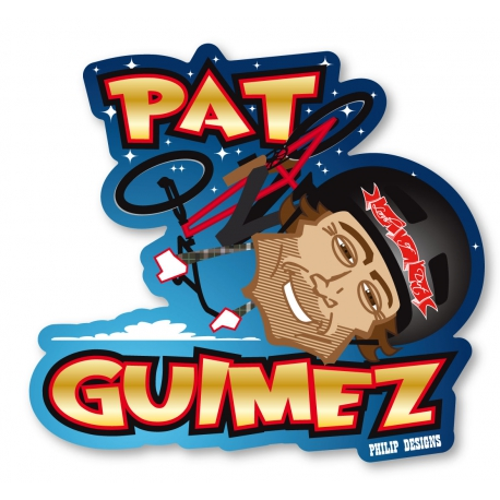 Sticker Patrick Guimez