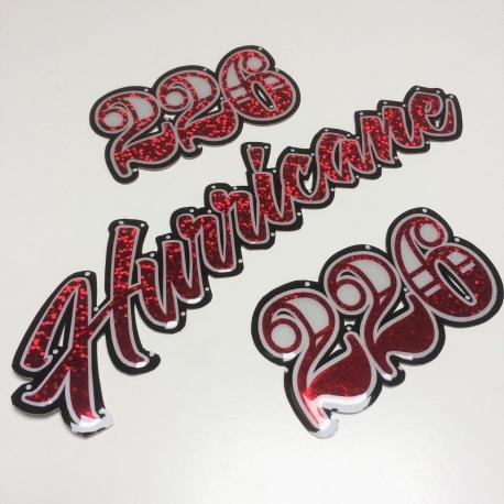 Sticker au cm - Hurricane