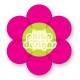 Flower sticker 6 cm high