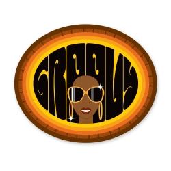 Sticker Groovy