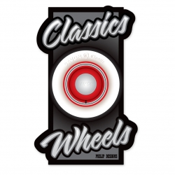Classics Wheels sticker