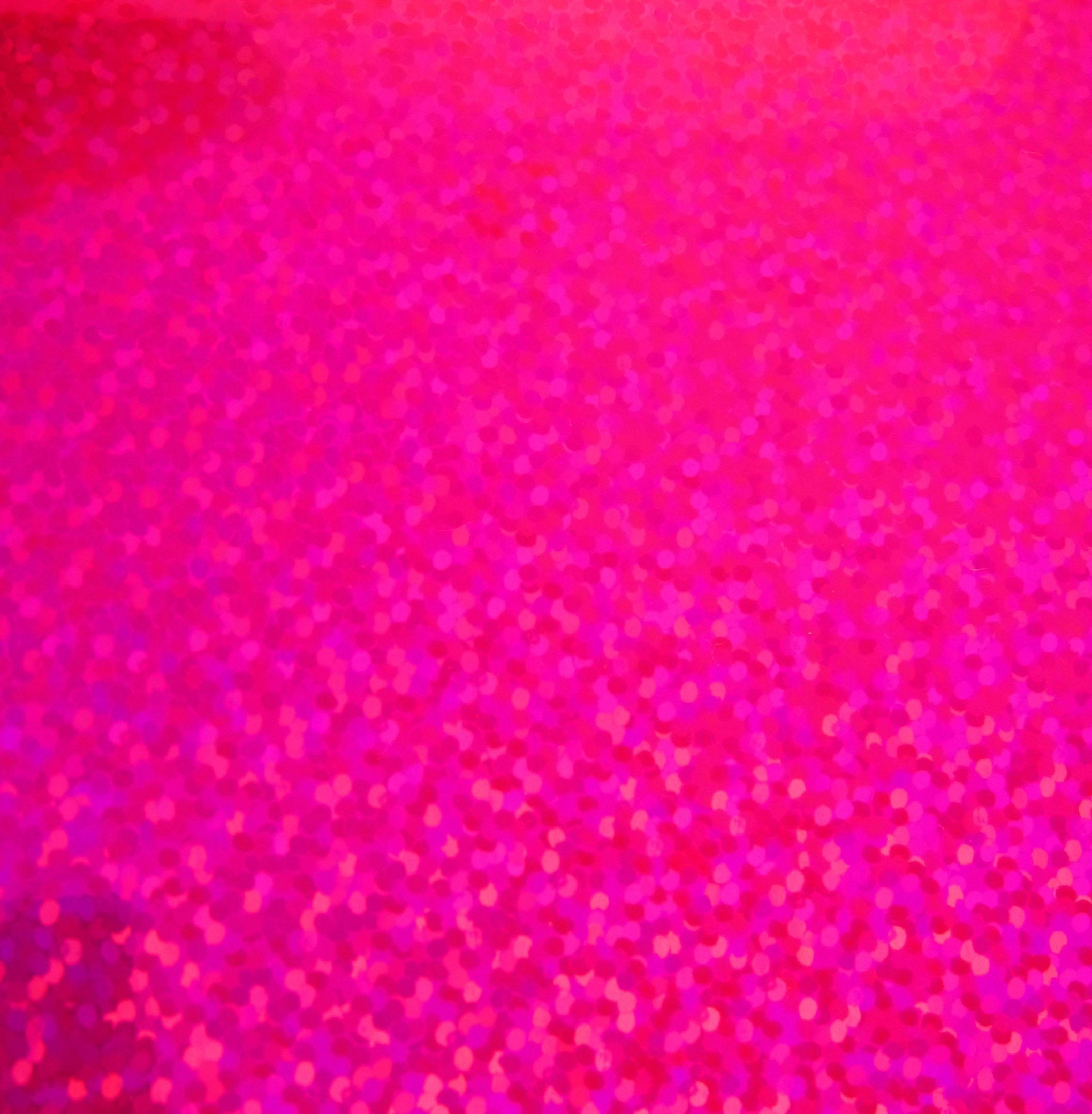 Flo pink metal flake