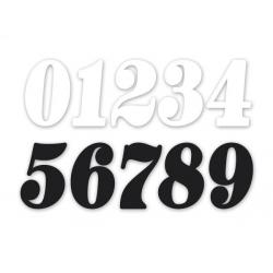 Sticker race number 8\'