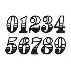 Sticker numéro Race cut 8\' (20cm)