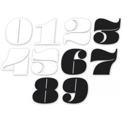 "Sticker numéro \""Néo rétro\"" 8\'"