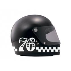 Sticker cut Race number